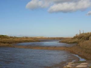 Thornham creek & marshes © Mari French 2010