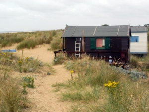 beach hut, old hunstanton © Mari French 2011