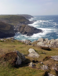 Cape Cornwall from Pendeen Lighthouse © Mari French 2011