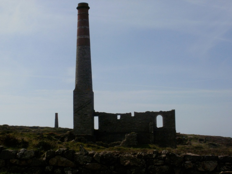 Ruins, Levant mine, Cornwall © Mari French 2011