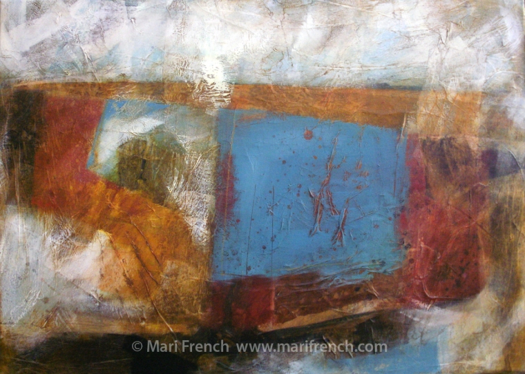 blue field © Mari French 2012