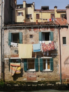 washing, Canareggio, Venice © Mari French 2012