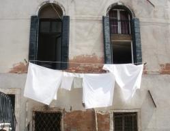 washing, hostel © Mari French 2012