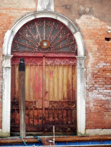 door onto canal © Mari French 2012