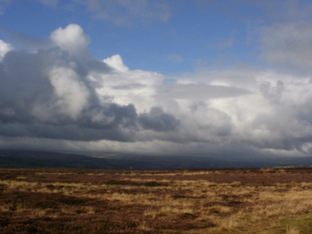 Above Rosedale Moor, North York Moors © Mari French 2012