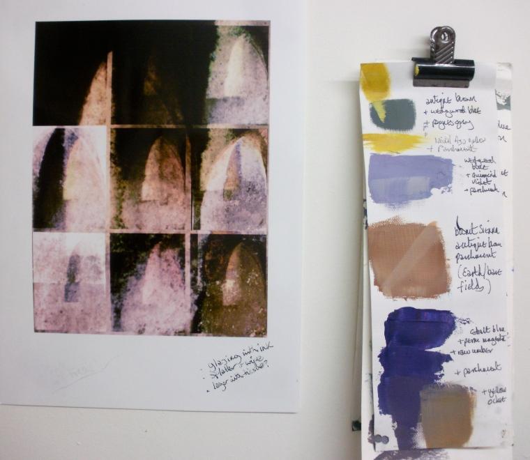 studio, digital photo © Mari French 2012