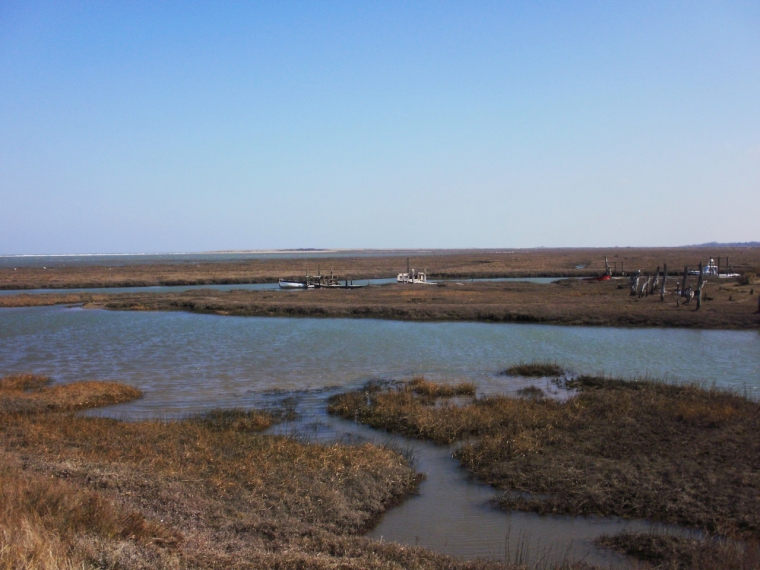 Thornham creek & saltmarsh, Norfolk