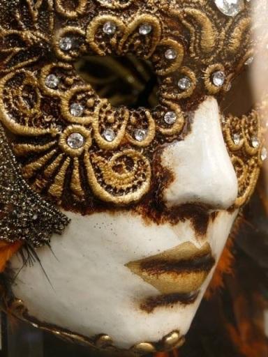 Venetian mask ( photo copyright Paul Campbell)