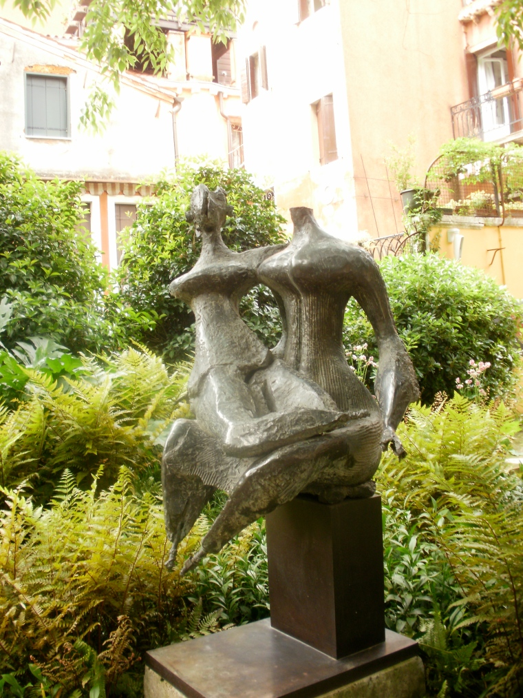 Sculpture garden, Peggy Guggenheim Collection, Venice