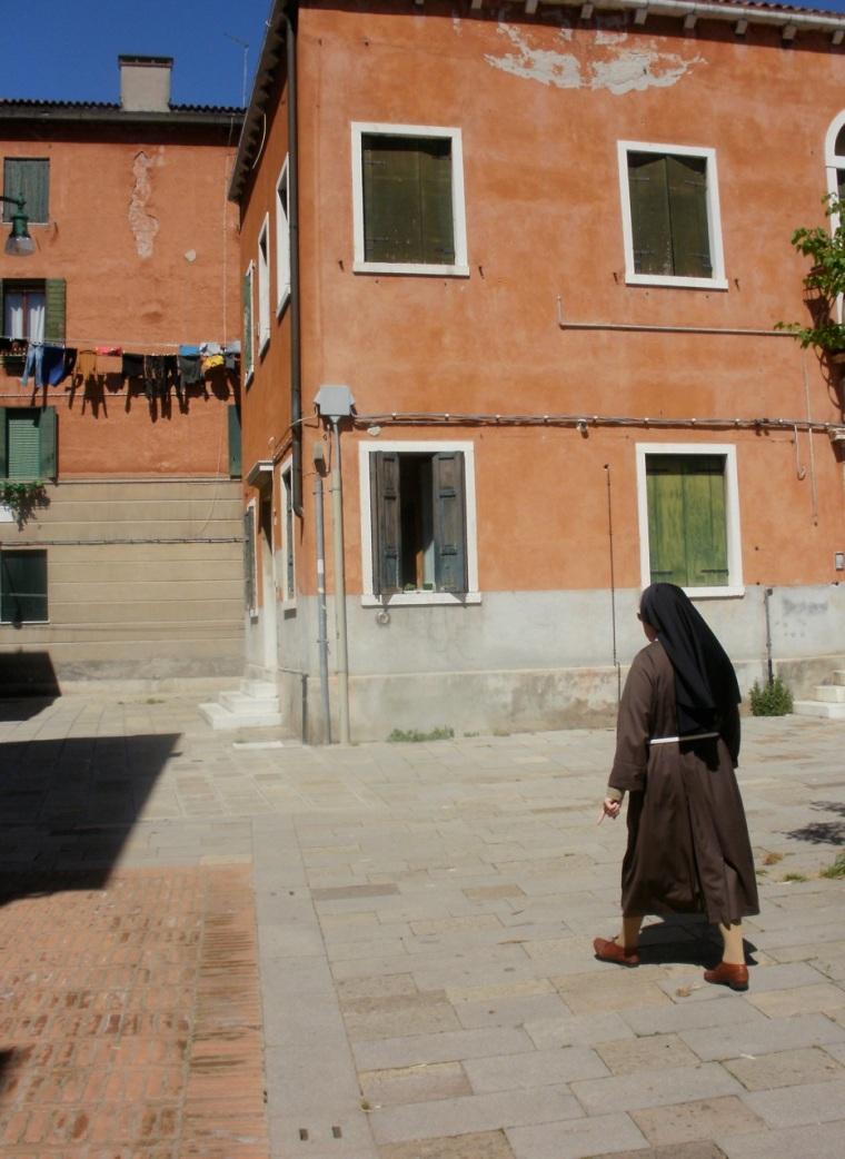 Franciscan nun, Castello, Venice.