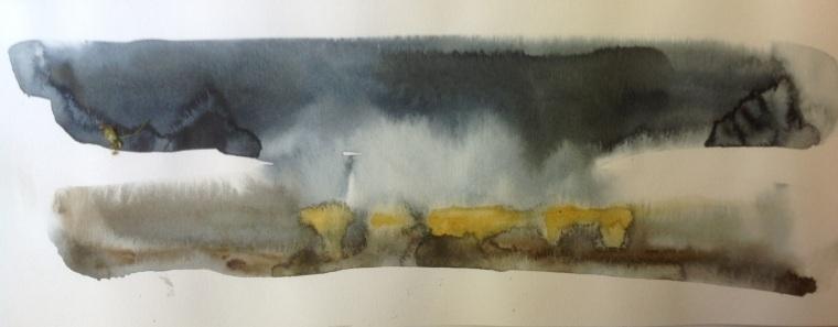 Thornham salt marsh. Mari French