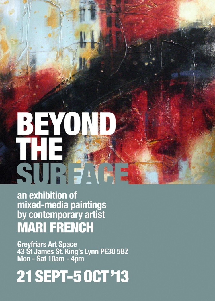 Beyond the Surface, art exhibition, King's Lynn.
