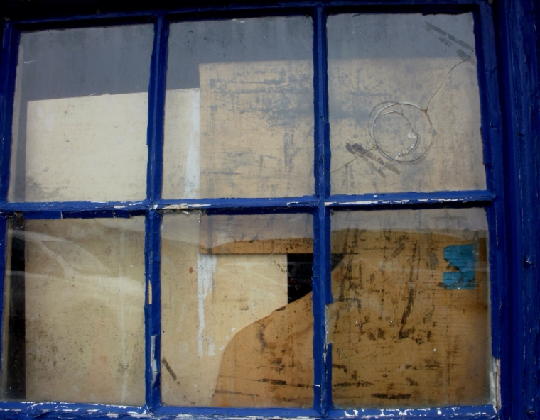 Window, Mousehole harbour.