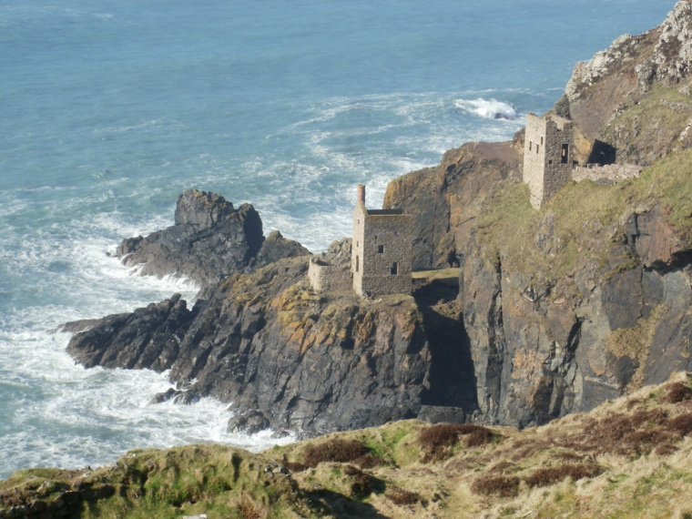 Crown mine, Bottallack © Mari French 2014