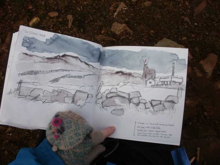 Sketching near Levant. Mari French 2014