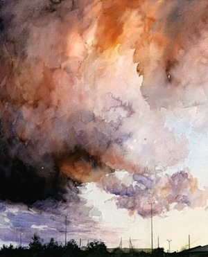 'Cloud Study, Loughborough' by Philip Clarke