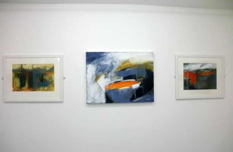 Coastlines exhibition. Mari French 2014.
