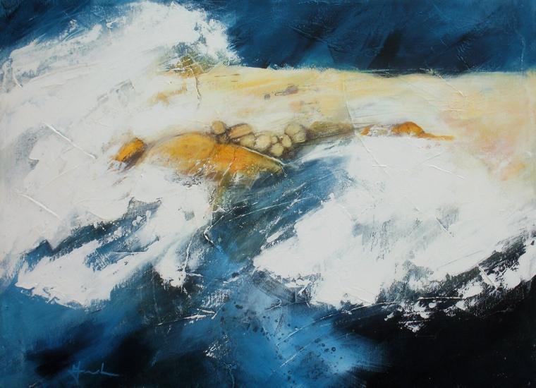 Incoming tide. Mari French 2014