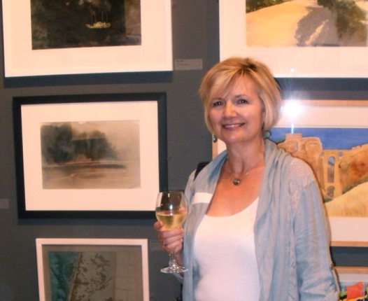 Private View, Sunday Times Watercolour Competition 2014.