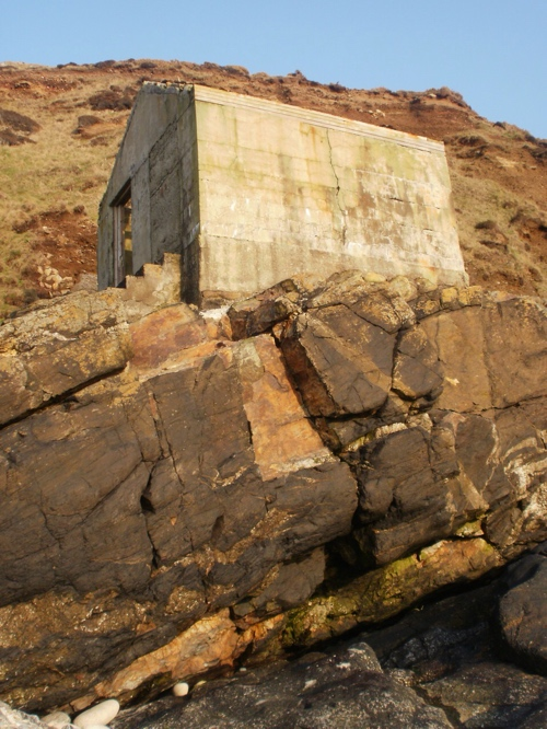 Old dynamite store, Cape Cornwall. Mari French 2014