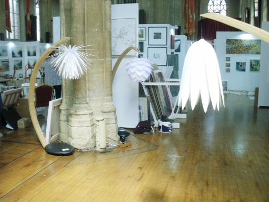 Gavin Morris's sculptural lights