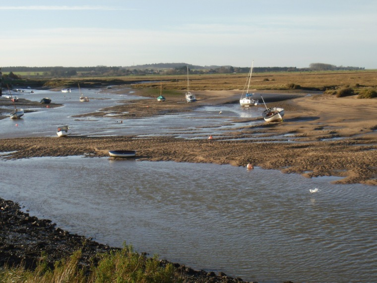 Burnham Overy creek. Mari French 2015