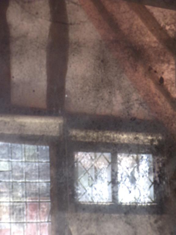Little Hall, Lavenham. Digital photo. Abstract impression.