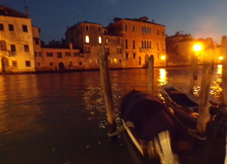 Grand Canal, night. © Mari French 2016