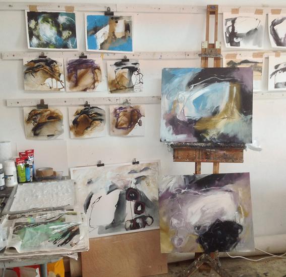 Studio work, Brisons Veor © Mari French 2017