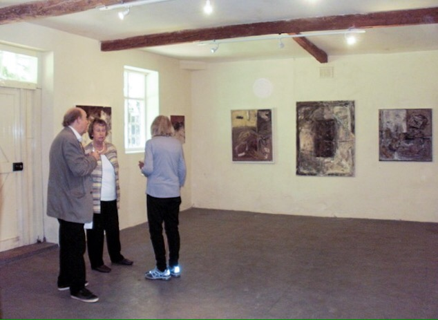 'Painters' exhibition, Black Barn, Cockley Cley, 2017.