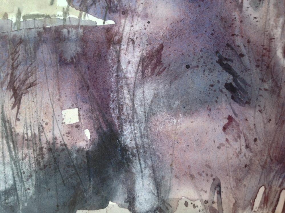 Reedbed sketch (detail) 2 © Mari French 2017