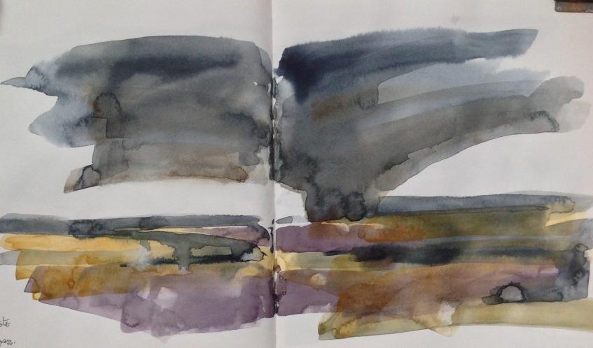 Sea lavender, Ragged Marsh.