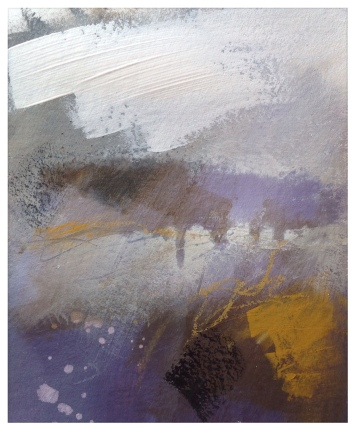 Moors above Rosedale (study) © Mari French 2018