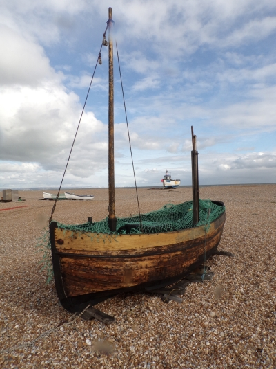 Fishing boat, Dungeness © Mari French 2018