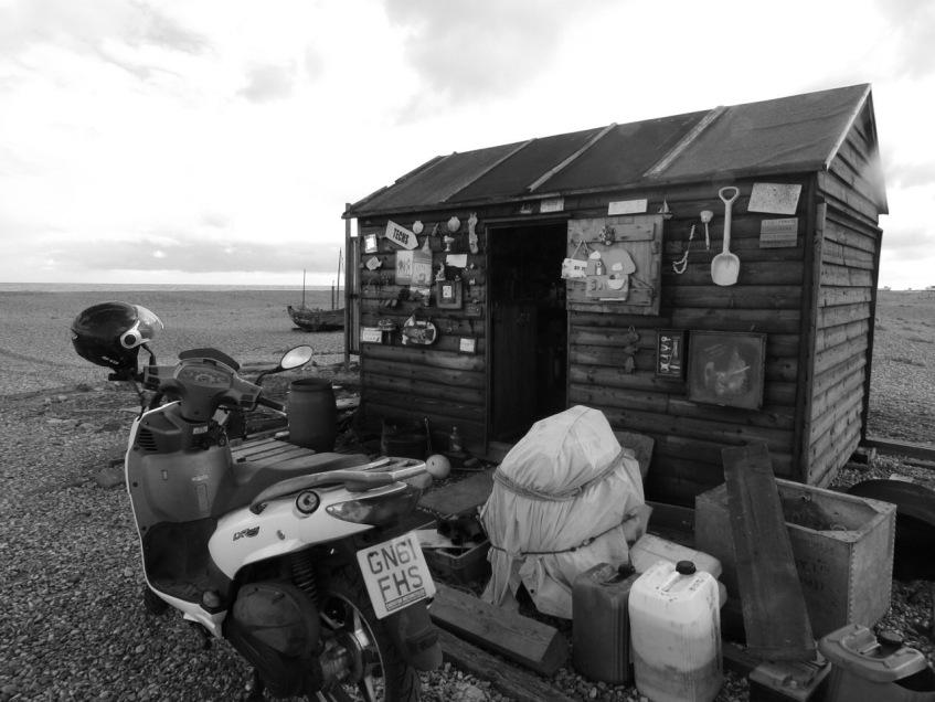Dungeness fishing hut © Mari French 2018